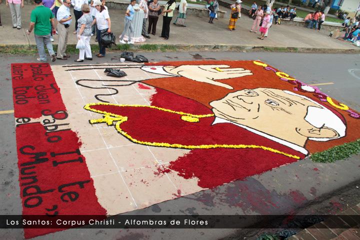 Los Santos Corpus Christi Alfombra De Flores